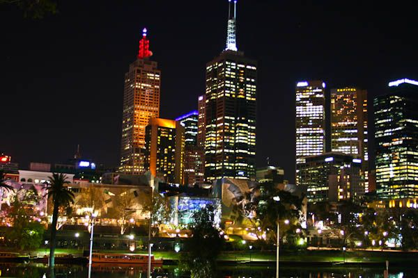 Melbourne at night 6
