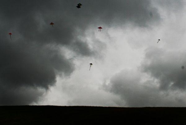 Kite Festival in the rain