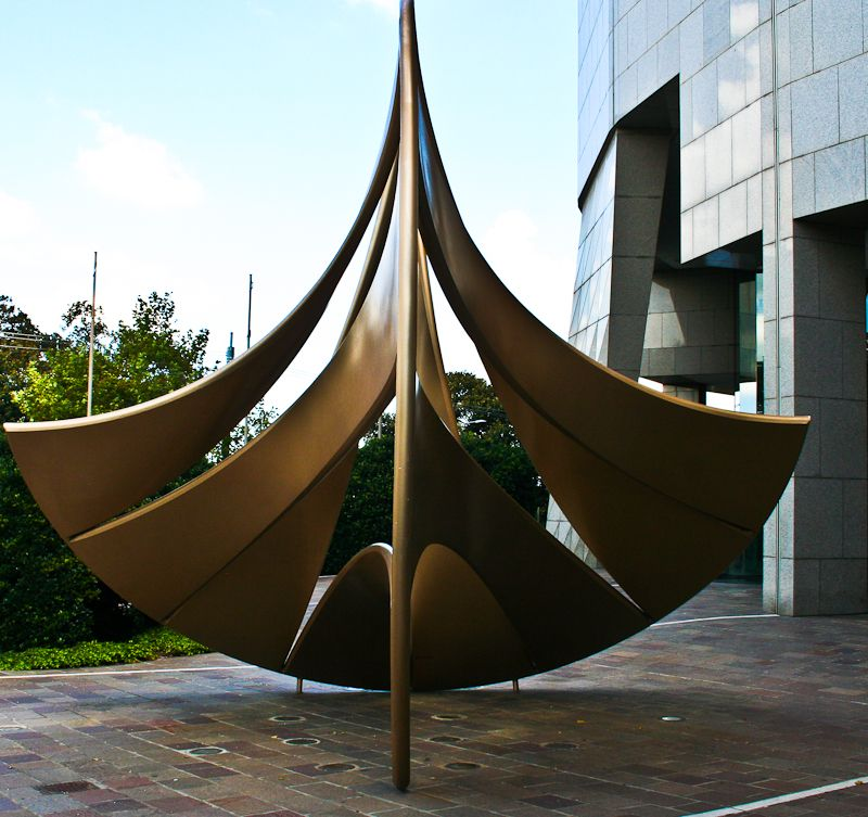 Sculpture..... A Boat?