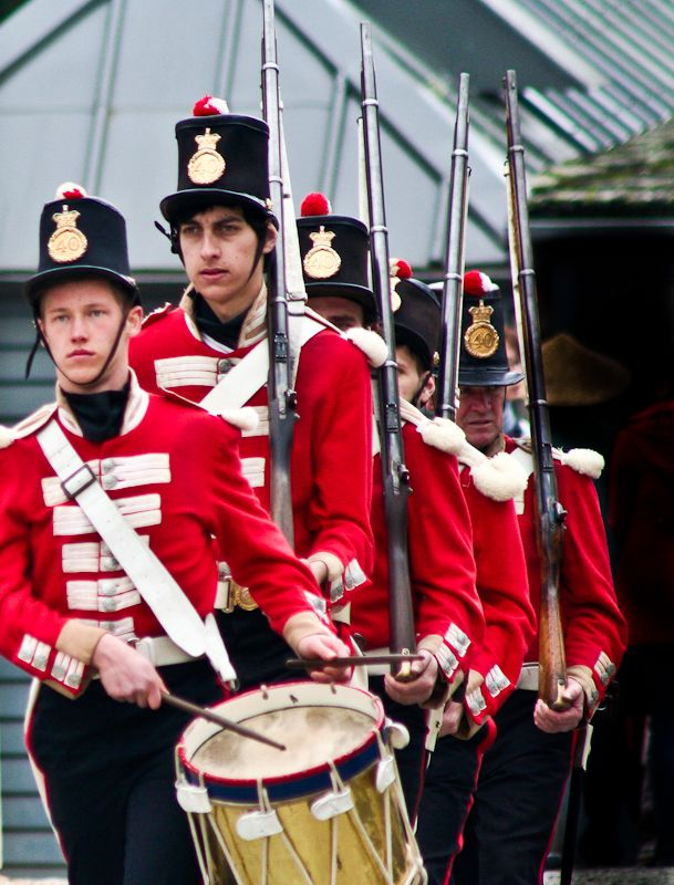 The Redcoats are coming