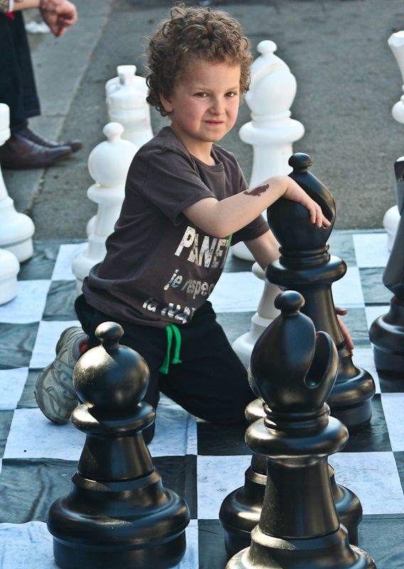 Chess kid