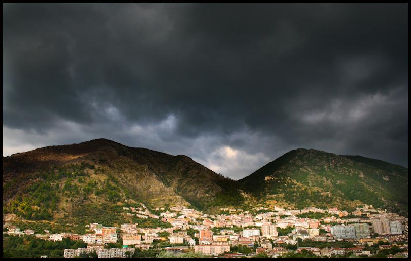 Sicilian Storm brewing