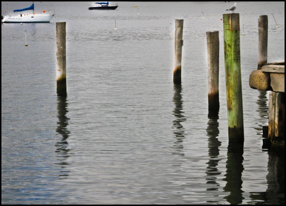 Mooring poles