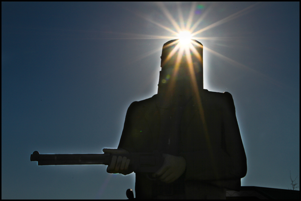 Ned Kelly at Glenrowan