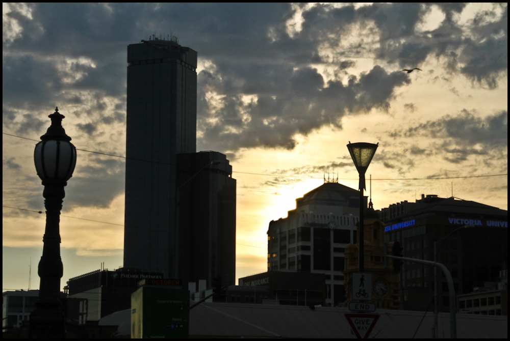 Melbourne in the evening 2