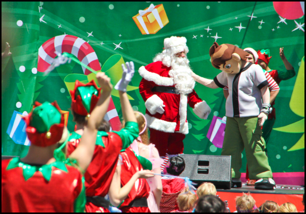 What are you doing in a Christmas pageant Ben 10?