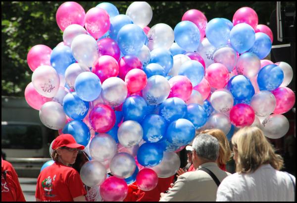 Masses of baloons