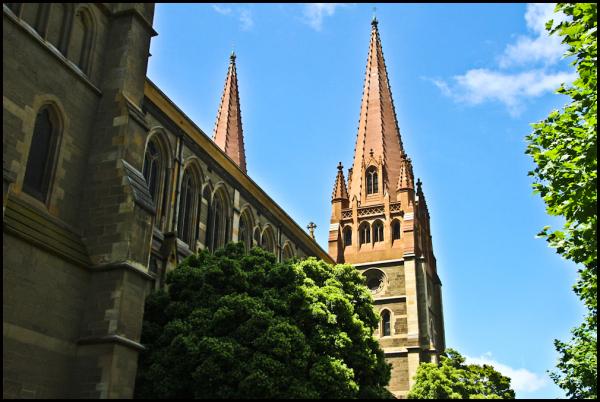 Melbourne in the Spring