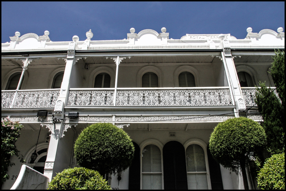 Terrace houses..... for the rich