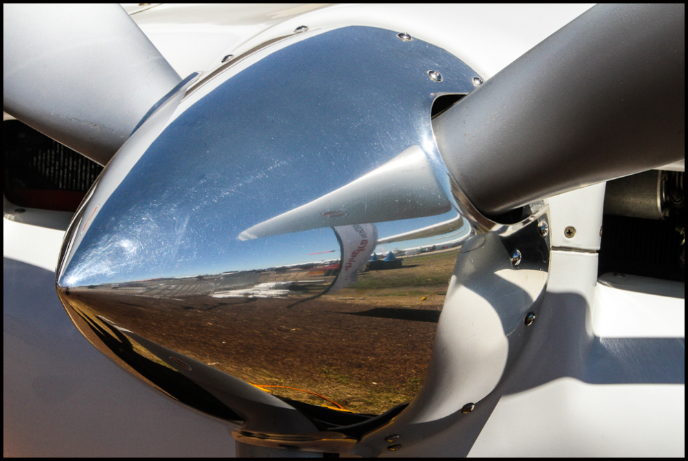 Up close and personal with a plane