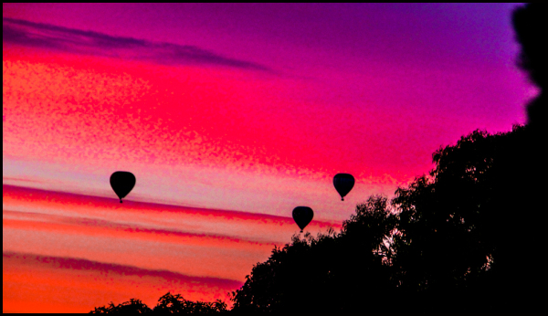 Balloons at Dawn 2