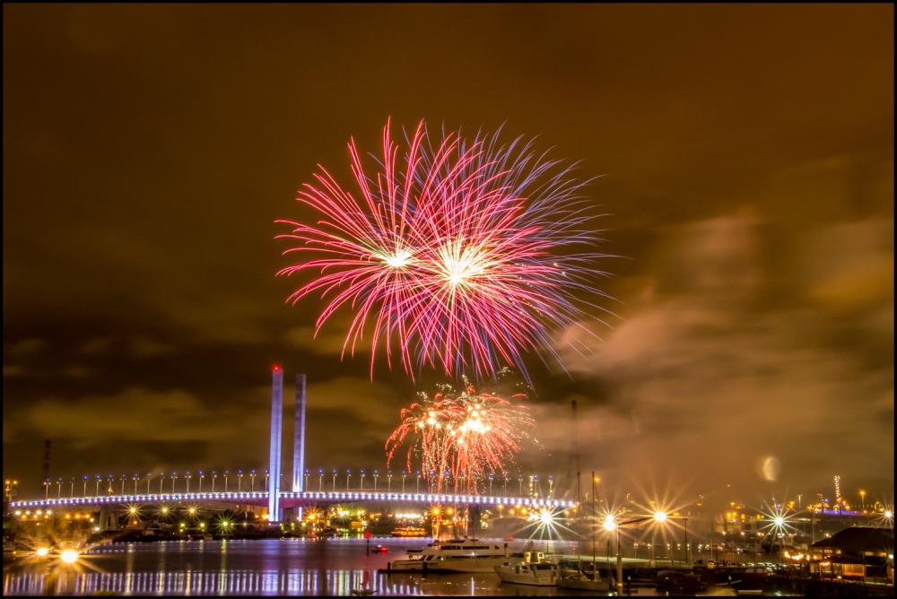 Bolte Bridge Fireworks