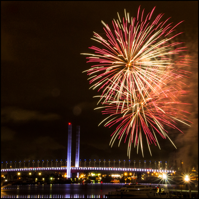 Bolte Bridge Fireworks 2