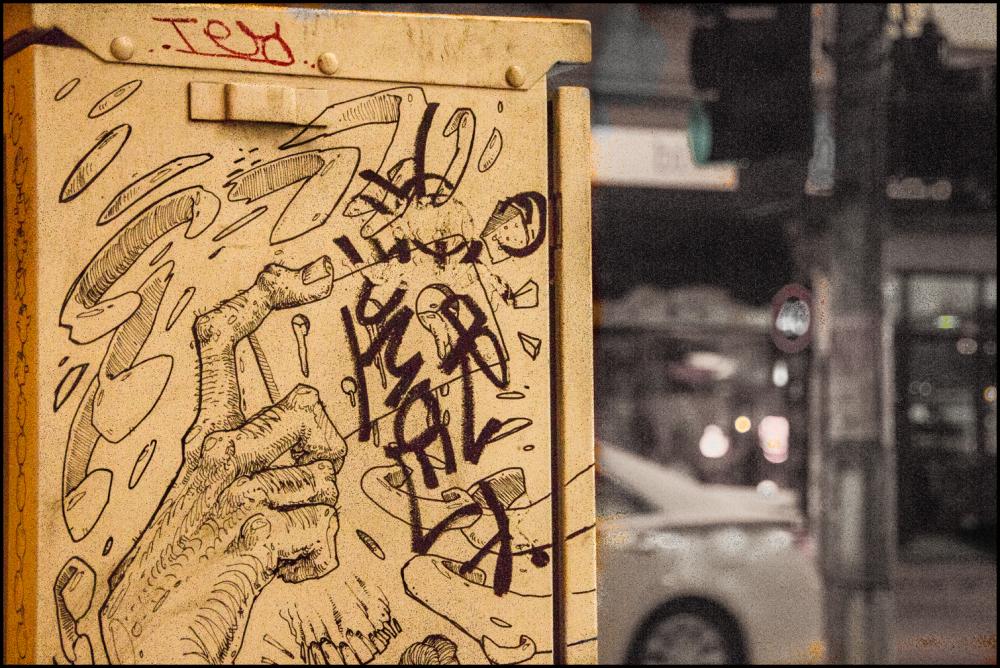 Interesting graffitti
