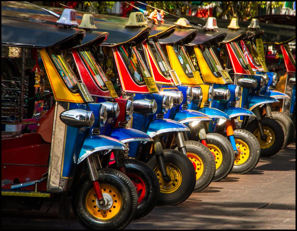 Thai Taxi rank