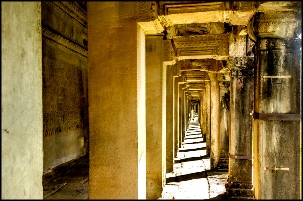 The Halls of Angkor Wat