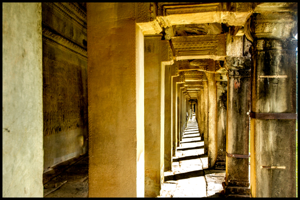 The Halls of Angkor Wat