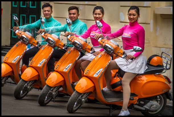 Hanoi Bikies?