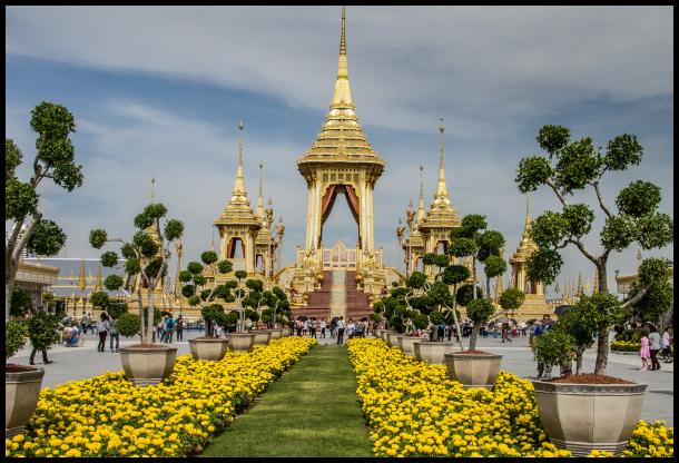 Thai Funeral celebrations