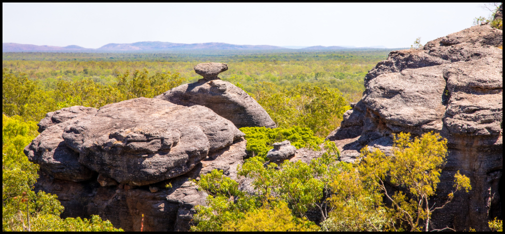 Across toward Arnhem land