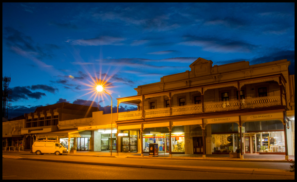 A busy Saturday night in Broken Hill