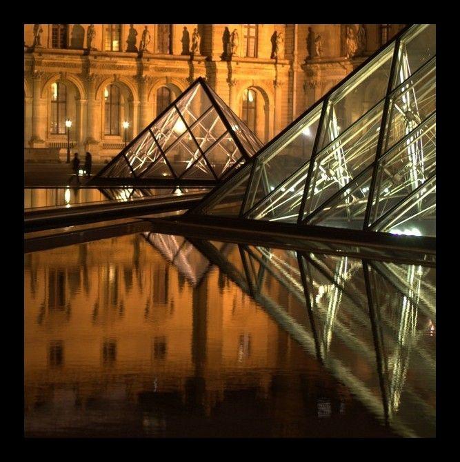 Les quatre pyramides du Louvre