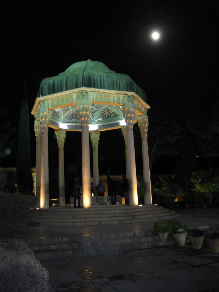 Hafez and the moon