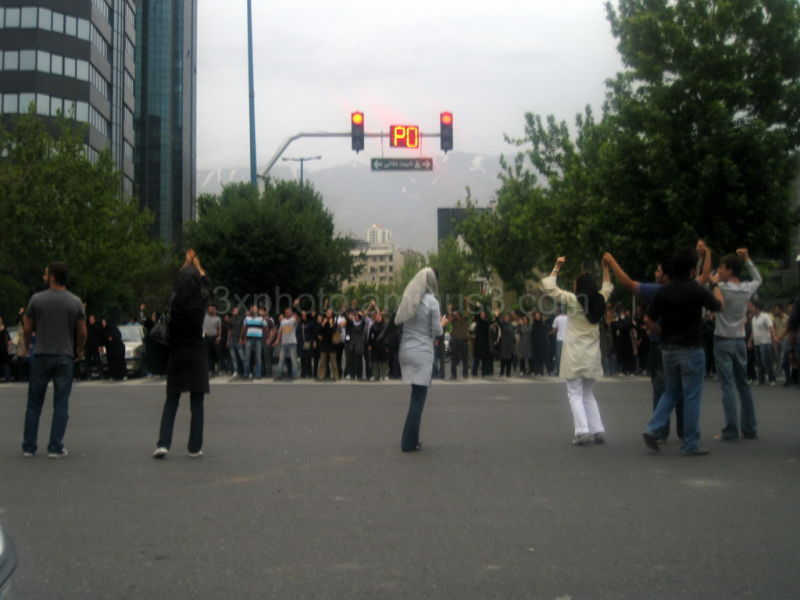 Riot in Tehran