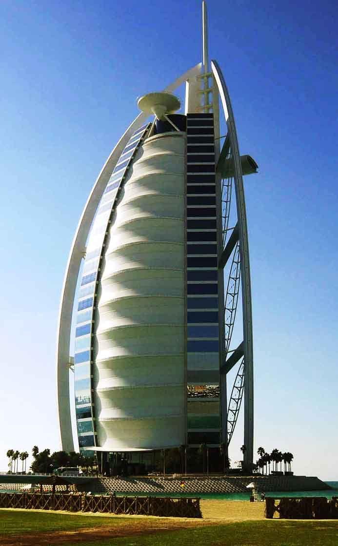 Burj Al Arab from Jumeirah Beach