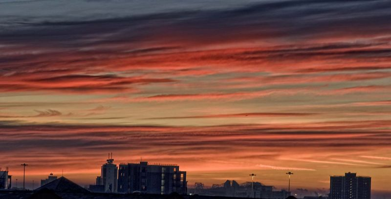 Manchester Night Sky