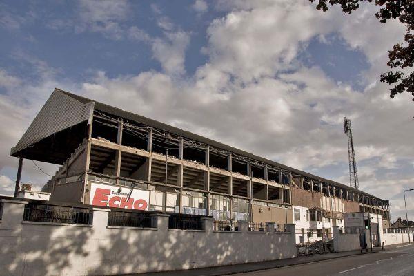 Ninian Park Grandstand Demolition