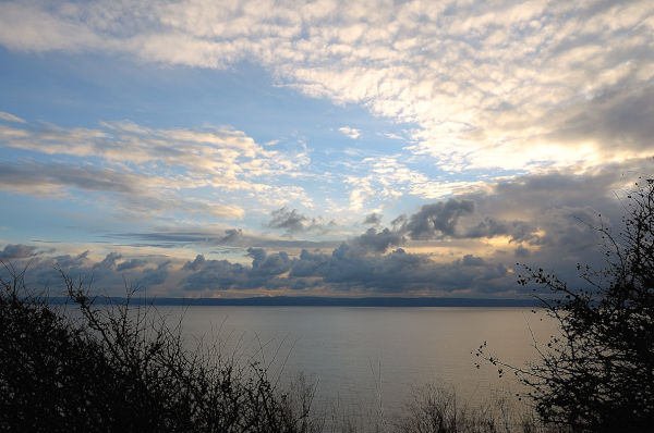 Llantwit Major Cliff Walk - Sunset