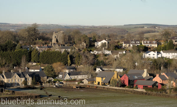 Llanblethian Countryside and Village