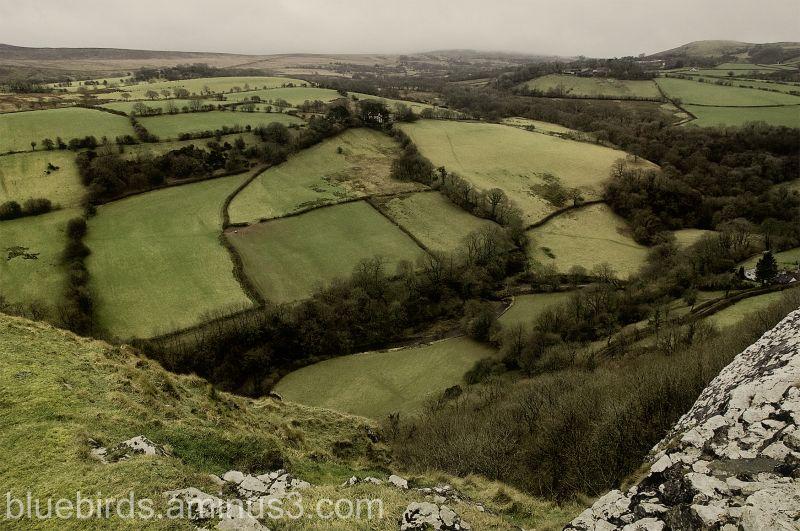 Carreg Cennen Countryside