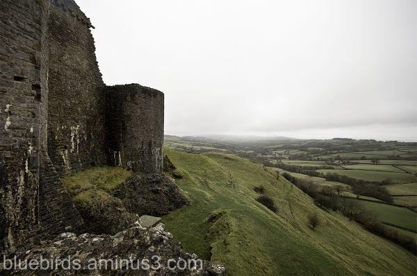 Carreg Cennen Castle - Commanding Position