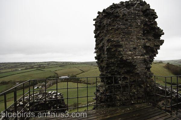 Carreg Cennen Castle - View from Platform