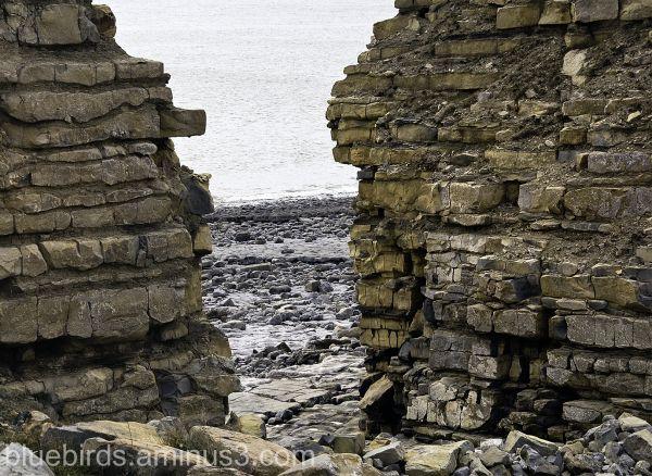 Rhoose Point Quarry Coastal Edge