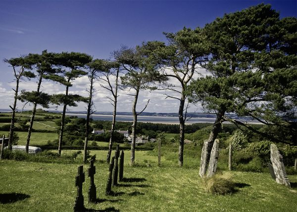 Llanmadoc Churchyard
