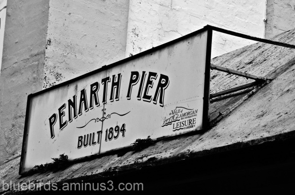 Penarth Pier Sign