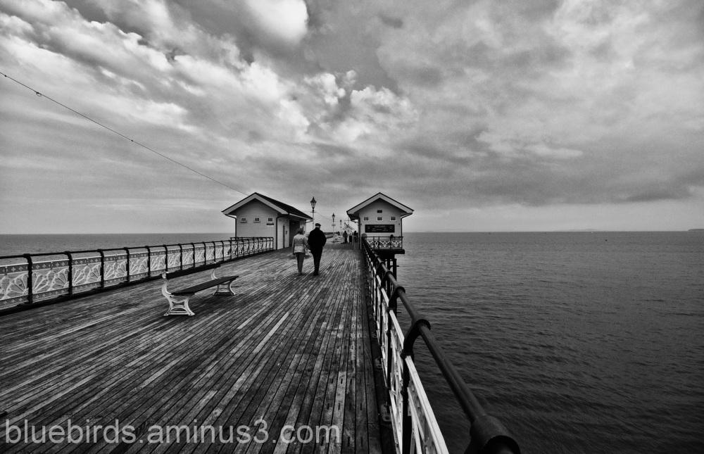 Penarth Pier - the Salvador Dali View
