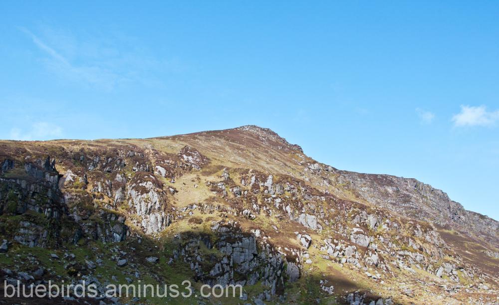 Comeragh Mountains Sunlight