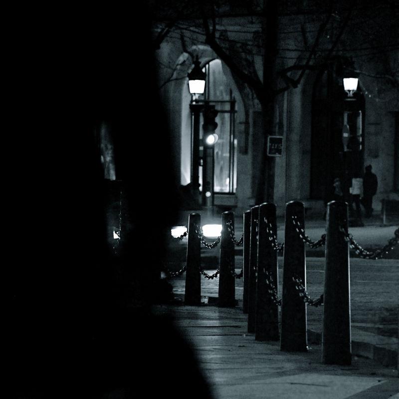 La nuit venue...
