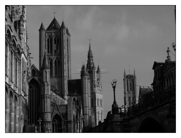 Ghent's towers