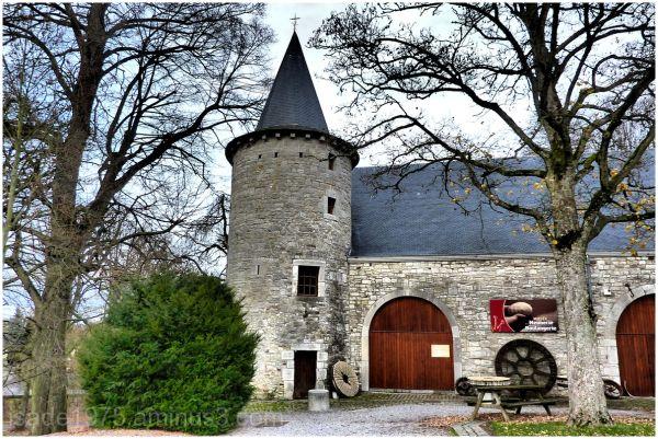 castle Harzé château musée meunerie Wallonie