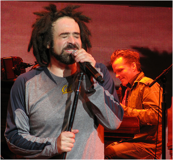 Adam Duritz & Charlie Gillingham of Counting Crows