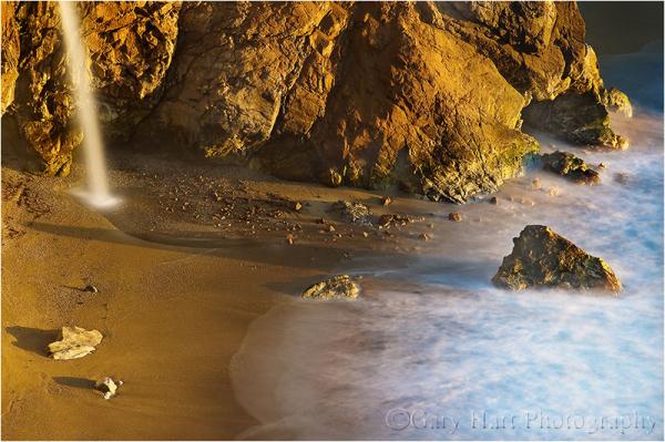 Magic Beach, McWay Fall, Big Sur