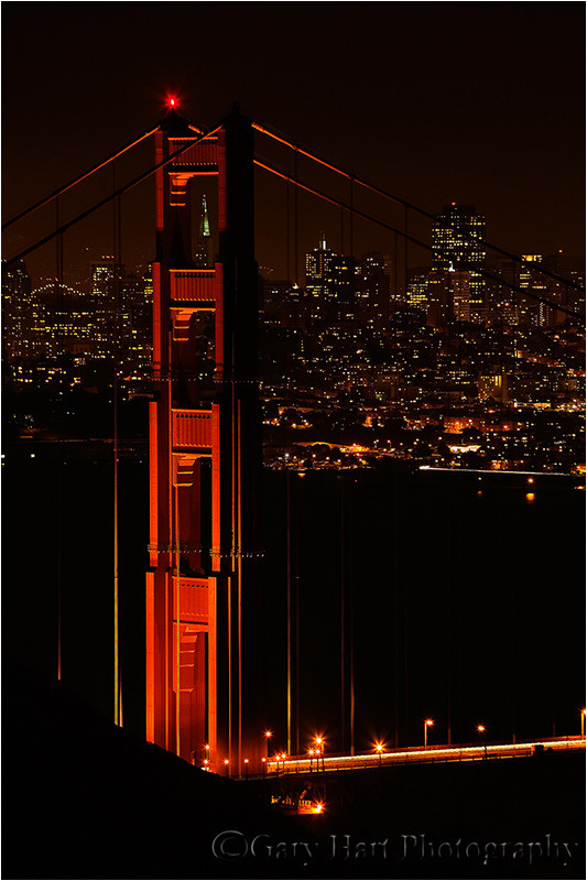 Golden Gate Bridge and the San Francisco skyline