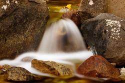 Autumn cascade on Bridalveil Creek