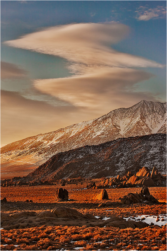Alabama Hills at sunrise