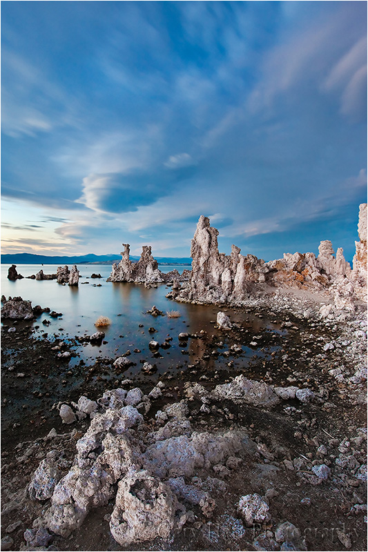 Tufa at twilight